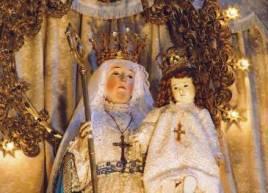 La statua miracolosa della Madonna del Buon Successo.